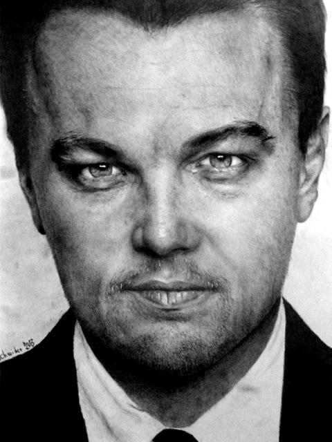 Leonardo DiCaprio par TrevorReznik